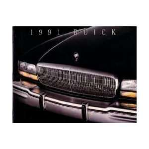 1991 BUICK Sales Brochure Literature Book Piece