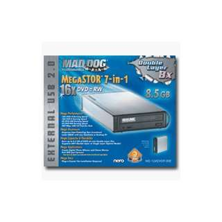 MAD DOG MULTIMEDIA MegaSTOR 7 in 1 16X/8X Double Layer