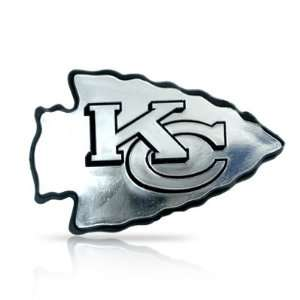 NFL Kansas City Chiefs 3d Chrome Car Emblem Automotive