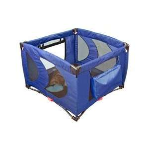 Resistant Home N Go Deluxe Puppy Dog PlayPen (Navy Blue)