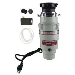 WasteMaster 1/3 HP Disposal with Powder Black Air Switch Kit