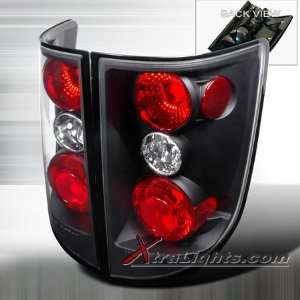 05 06 Honda Ridgeline Tail Lights   Black (pair