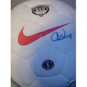 Soccer Ball Football   Autographed Soccer Balls Sports Collectibles