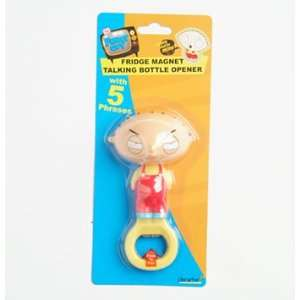 Family Guy Fridge Magnet Talking Bottle Opener Stewie  Toys & Games