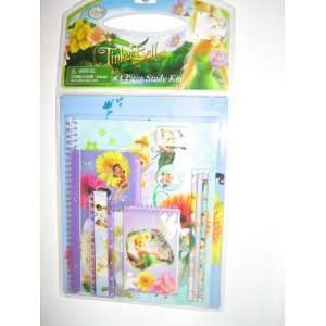 Disney Tinker Bell 11 piece School Supply Set Pencil
