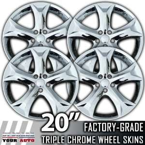 2009 2012 Toyota Venza 20 Inch Chrome Wheel Skins