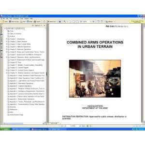 In Urban Terrain Guerrilla Warfare Field Manual Guide Book on CD ROM
