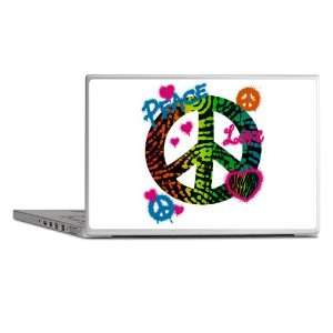 Laptop Notebook 13 Skin Cover Peace Love Rainbow Peace