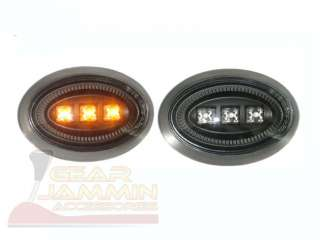 MINI COOPER LED Side Marker Blinker Lights smoked black