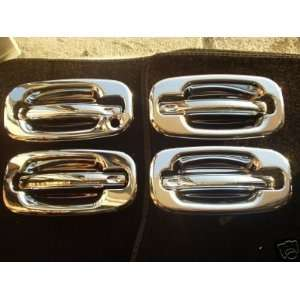 Mirror Polish Chrome Door Handle Cover   Chevy Avalanche