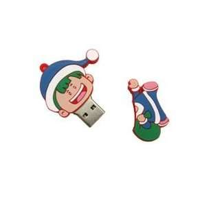 8GB Giving Gifts Boy Cartoon USB Flash Drive Blue