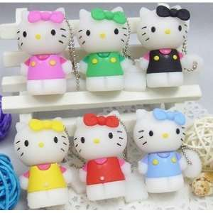 4GB Cute Black Hello Kitty Style USB flash drive with