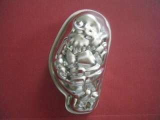 Mini Single Santa Shape Metal Cake Pan Jello Mold