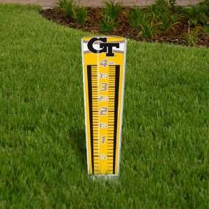 NCAA Georgia Tech Yellow Jackets Rain Gauge