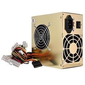 pin Dual Fan ATX Power Supply w/SATA (Gold)