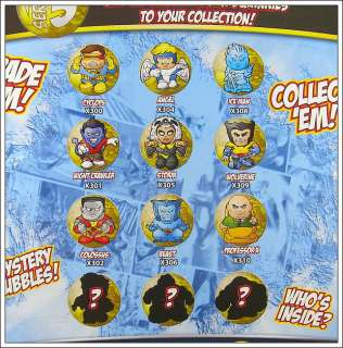 New SQUINKIES Marvel X MEN XMEN Super Hero Figure Xmas Toy MV03