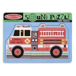 Fire Truck Sound Puzzle Toys & Games